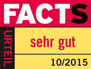 "FACTS ""Sehr gut"""